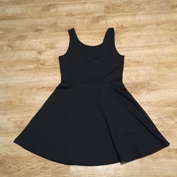 DIVIDED Size 14 Skater Circle Skirt Dress